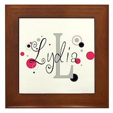 Sophia Framed Tile