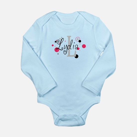 Sophia Long Sleeve Infant Bodysuit