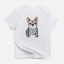 Sugar Skull Frenchie Infant T-Shirt