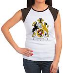 Fawcett Family Crest Women's Cap Sleeve T-Shirt