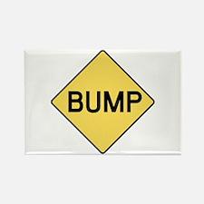 BABY BUMP (YELLOW) Rectangle Magnet