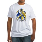 Farnham Family Crest  Fitted T-Shirt