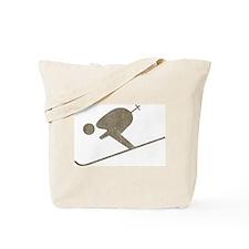 Vintage Skiing Tote Bag