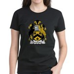 Fanshaw Family Crest Women's Dark T-Shirt