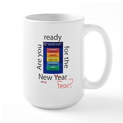 New Year (fear) Large Mug