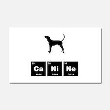 Treeing Walker Coonhound Car Magnet 20 x 12