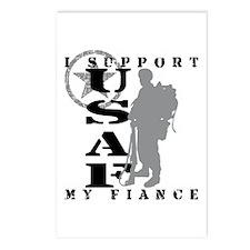 I Support Fiance 2 - USAF  Postcards (Package of 8