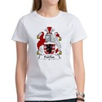 Fairfax Family Crest Women's T-Shirt