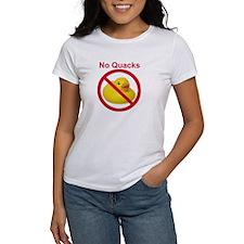 Rubber Duck: No Quacks Tee