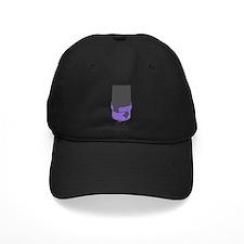 Vintage Microphone (Grey/Purple) Baseball Hat