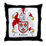Fabian Family Crest  Throw Pillow