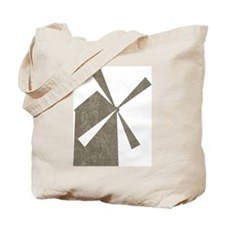 Vintage Windmill Tote Bag