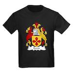 Evett Family Crest Kids Dark T-Shirt