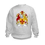 Evett Family Crest Kids Sweatshirt