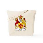 Evett Family Crest Tote Bag