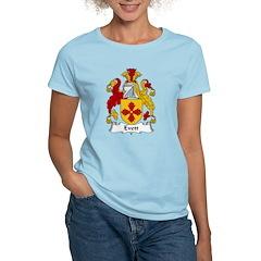 Evett Family Crest Women's Light T-Shirt