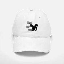 Protect Your Nuts. Baseball Baseball Cap