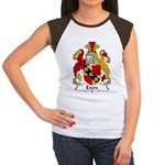 Evers Family Crest  Women's Cap Sleeve T-Shirt