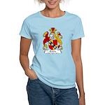 Evers Family Crest  Women's Light T-Shirt