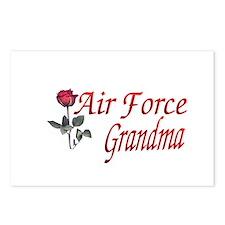 air force grandma Postcards (Package of 8)