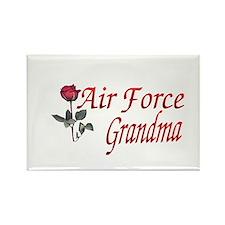 air force grandma Rectangle Magnet