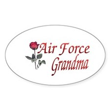 air force grandma Oval Decal
