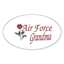 air force grandma Oval Decal