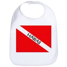 Cute Dive hawaii Bib