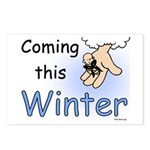 Coming this Winter Postcards (Package of 8)