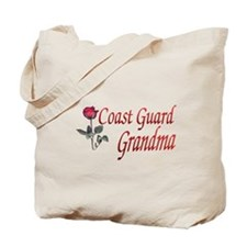 coast guard grandma Tote Bag