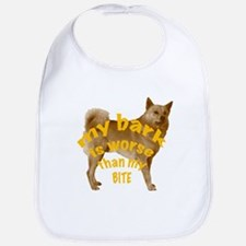 Finnish Spitz bark Bib