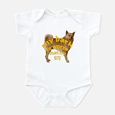 Finnish Spitz bark Infant Bodysuit