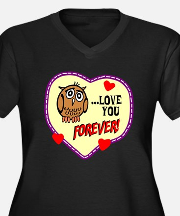 Owl Love You Forever Plus Size T-Shirt