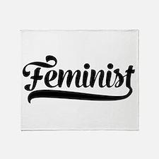 Feminist Throw Blanket