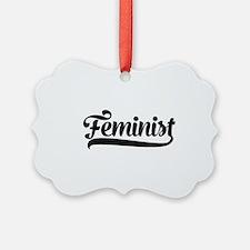 Feminist Ornament