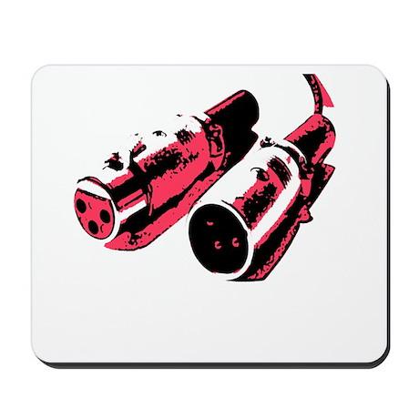 Black/Red Mousepad