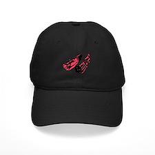 Black/Red Baseball Hat