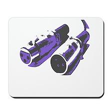 Grey/Purple Mousepad