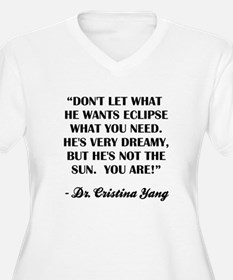 HE'S NOT THE SUN Plus Size T-Shirt