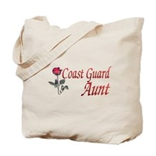coast guard aunt Tote Bag