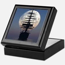 Ship Sailing In The Night Keepsake Box