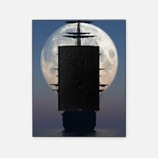 Ship Sailing In The Night Picture Frame