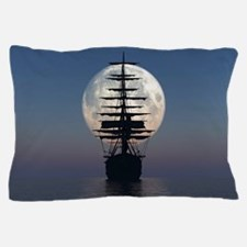 Ship Sailing In The Night Pillow Case