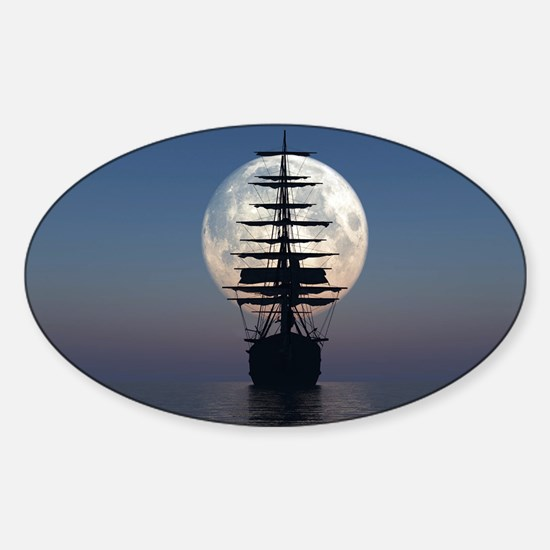 Ship Sailing In The Night Decal