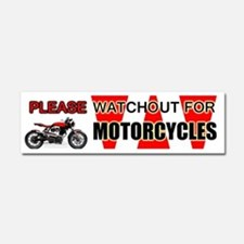Funny Motorcycle Car Magnet 10 x 3