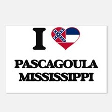 I love Pascagoula Mississ Postcards (Package of 8)