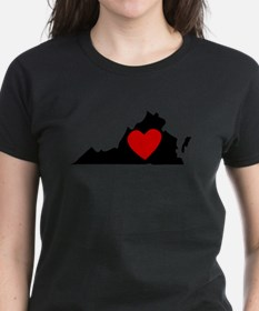 Virginia Heart T-Shirt