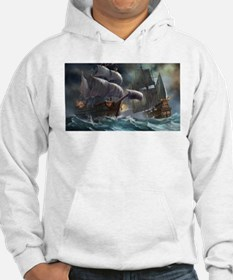 Battle Between Ships Hoodie