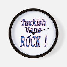 Turkish Vans Wall Clock