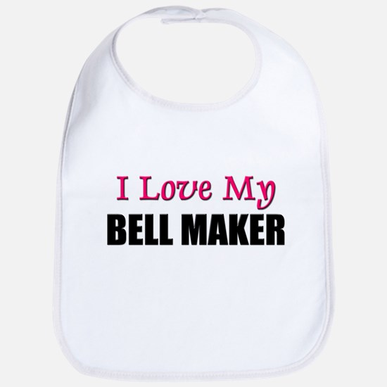 I Love My BELL MAKER Bib